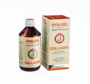 Hyalgel Collagen balení 2 x 500 ml za akční cenu 296,- Kč