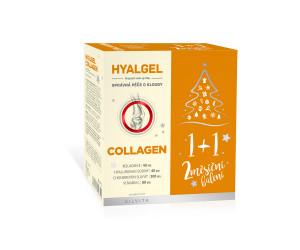 Hyalgel Collagen vánoční balení 2020 2x500 ml