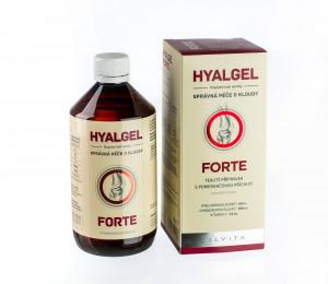 Hyalgel Forte 2x 500 ml za akční cenu 420,- Kč