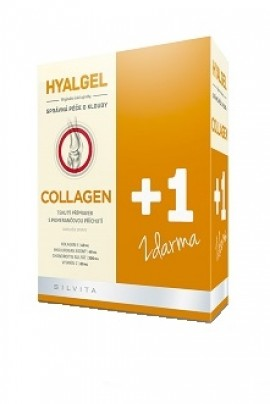 Hyalgel Collagen balení 2 x 500 ml za akční cenu 189,- Kč