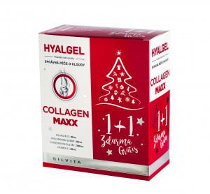 Hyalgel Collagen MAXX vánoční balení 2021 2x500 ml