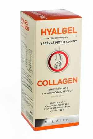 Hyalgel Collagen 500 ml pomeranč